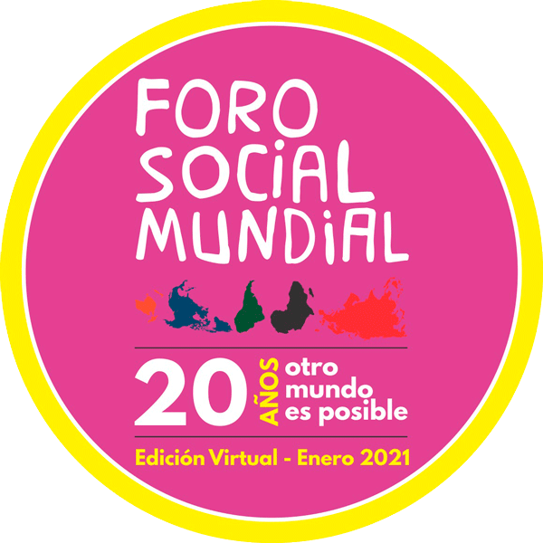 World Social Forum 2021  logo